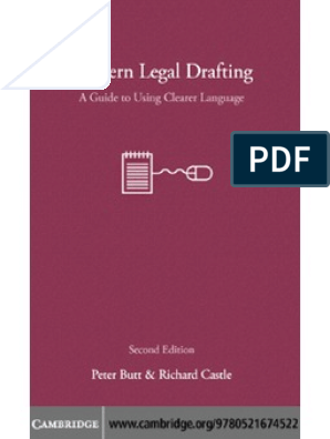 Legal Drafting Rules | Lawyer | Conveyancing