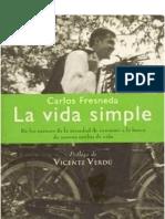 78710427 La Vida Simple Carlos Fresneda