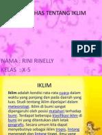 Geografi-IKLIM
