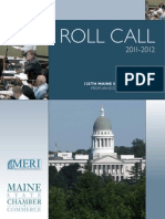 Maine State Chamber of Commerce MERI Roll Call 2012 (3)