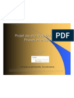 Phases Site Web Projet Tic