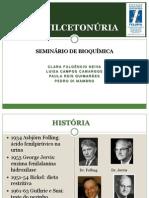 SEMINÁRIO DE BIOQUÍMICA da Faculdade de Ciências Médicas de MG
