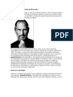 Aniversario Por La Muerte de Steve Jobs