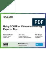 Using SCOM for VMware monitoring