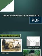 TRANSPORTE E MINERAÇÃO - 2012