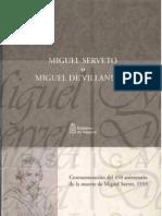 Michael de Villanueva. His connection with Navarre and its people