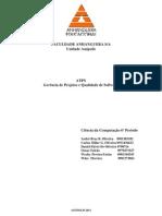 ATPS Gerência de Software 6Periodo