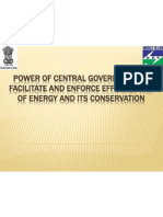 Power of Central Government