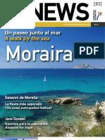 CVNEWS 82 - Un paseo junto al mar - A walk by the sea -  Moraira