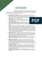 Plow Guidelines & FAQ's
