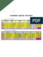2 Calendar Scolar 2012 2013
