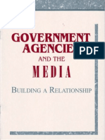 Government Agencies and the Media (Building a Relationship)