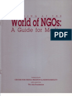 World of NGOs a Guide for Media