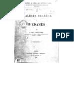 Le Dialecte Berbère de R'edamès - Adolphe de Calassanti Motylinski 1904