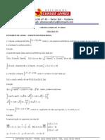 Calculo III Integrais de Linha Resolvidas Em 04 Mai 2011
