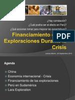 Financiamiento de Juniors en Epocas de Crisis