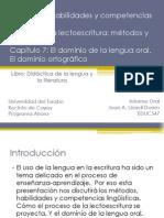 Cap 5-7 Didáctica de la lengua y la literatura