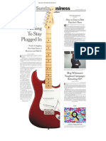 New York Times_093012_Biz Section_Fender Guitar Story_Page 01
