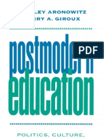 Posmodern Education
