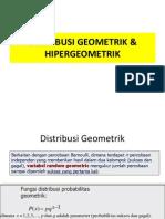 8 Distr Geo Hipergeometrik