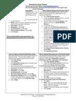 Sharepoint cheatsheet