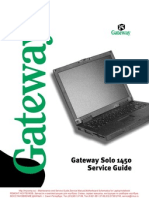 Gateway Solo 1450 Www.mycomp.su