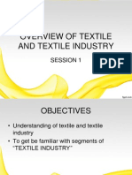 overview of textile and indian textile indutry