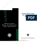General Safety Rules for Fabs