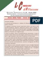 Villazzano, bollettino parrocchiale Settembre 2012