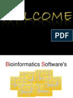 SAHIL PATEL Bioinformatics Softwares