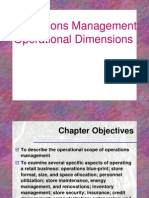 Retail Operations Management_Operational Dimensions