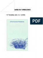 A First Course in Turbulence