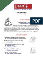 Newsletter #12 - 4 Ottobre 2012