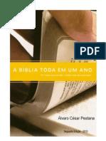A Biblia toda em um ano - Alvaro César Pestana