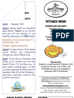 McMinnville Oct 12 Menu Flier