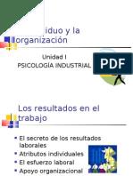 Planeacion psicologica / Individuo y organizacion