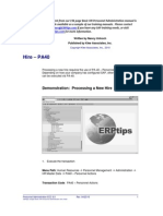 ERPtips SAP Training Manual SAMPLE CHAPTER From Personnel Administration