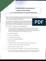 Carta de Tuto Quiroga a la Oposición Venezolana