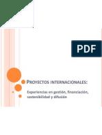Proyectos Internacionales