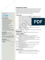 International Business CV