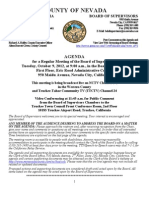 Nevada County BOS Agenda