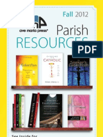 Fall 2012 Ave Maria Press Parish Resources Catalog