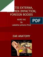 Otitis Externa Ppt
