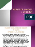 Rights of Parents-Children
