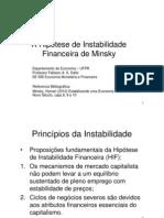 A Hiptese de Instabilidade Financeira de Minsky