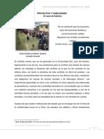EDUARD HARDY - PROYECTOS Y VIABILIDADES, El caso de Kañaris