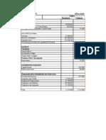 Balancete de Verificação da Companhia Beta em Reais