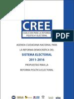 Propuestas de Reformas CREE