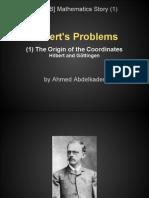 [E-WEB] Mathematics Story | Talk. 1 | Hilbert's Problems | Eng. Ahmed Abdelkader