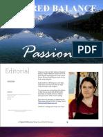 Inspired Balance V1- Passions Sept 2012